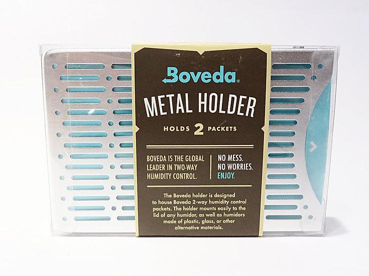 Custodia in metallo per 2 pacchetti