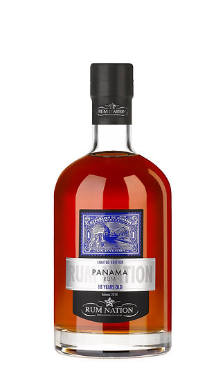 RUM NATION PANAMA 18 years old
