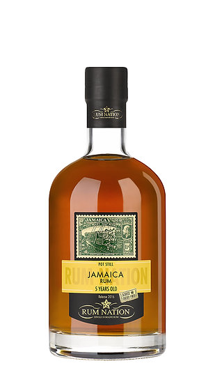 RUM NATION JAMAICA 5 years old