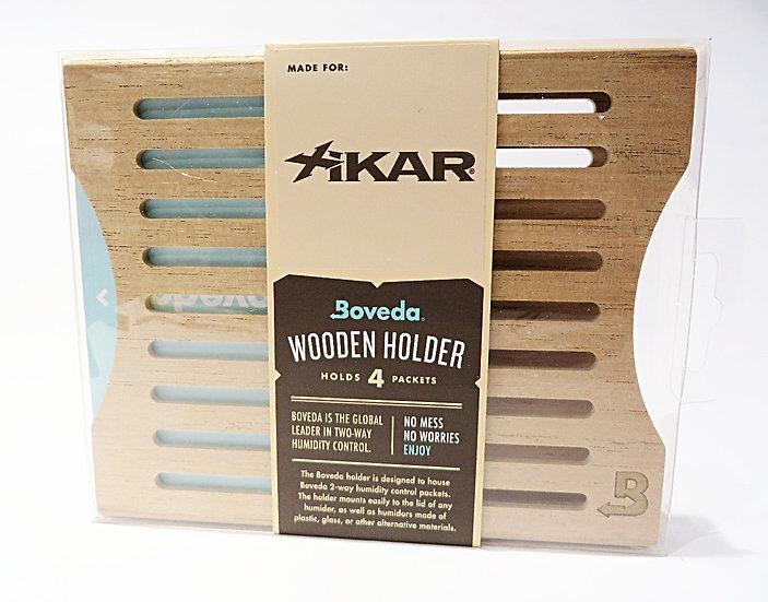 Custodia in legno per 4 pacchetti