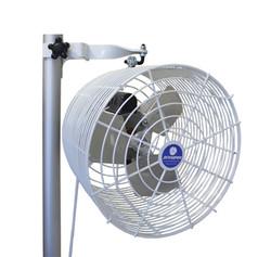pole mounted fan