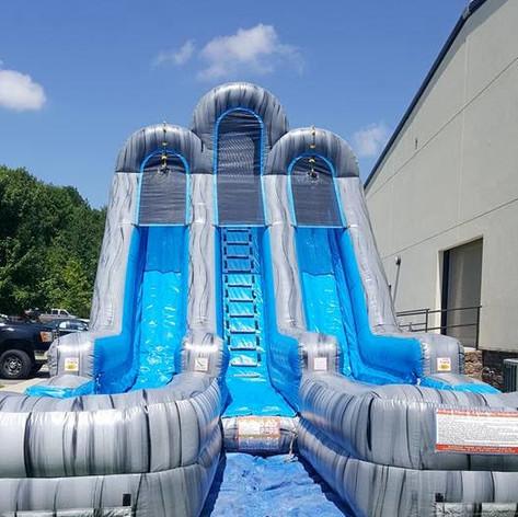 20' Wet Slide (Dual Lane)