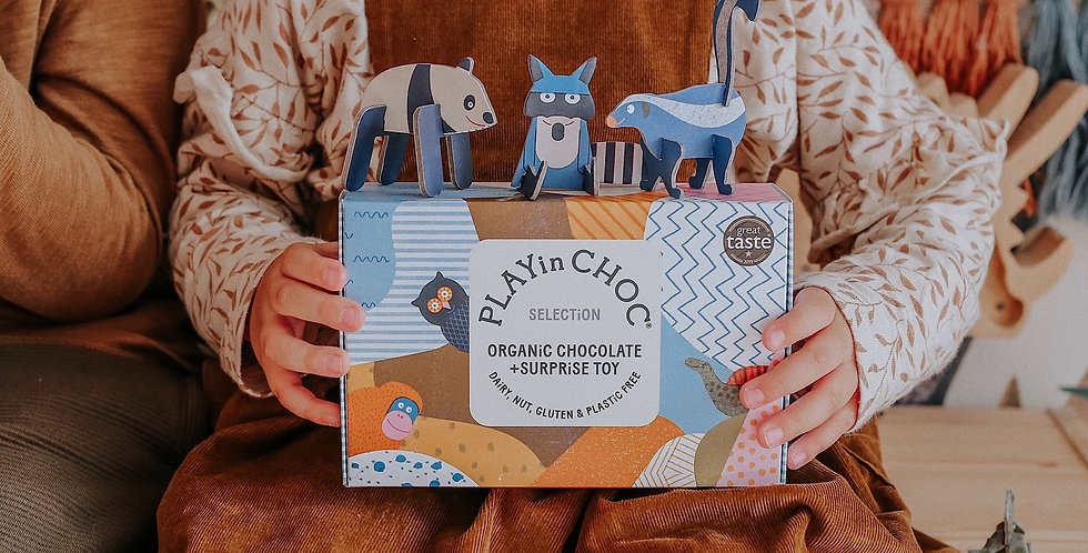 TOY CHOCOLATE BOX SELECTION OF 6