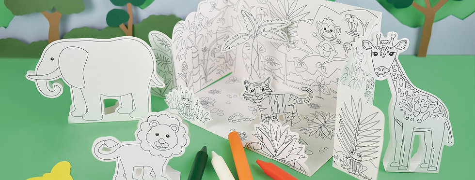 CREATE YOUR OWN POP UP JUNGLE