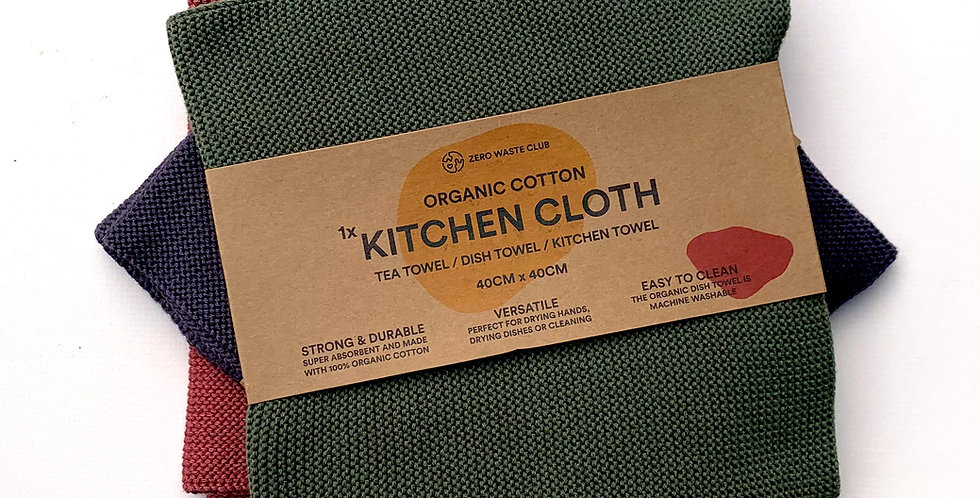 ORGANIC COTTON DISH TOWEL