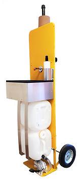 Tuffco portable jobsite safety station