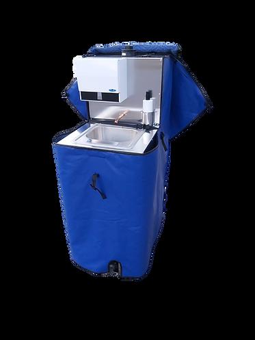 Portable handwashing station winterproof