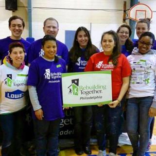 Volunteering with Rebuilding Together Philadelphia