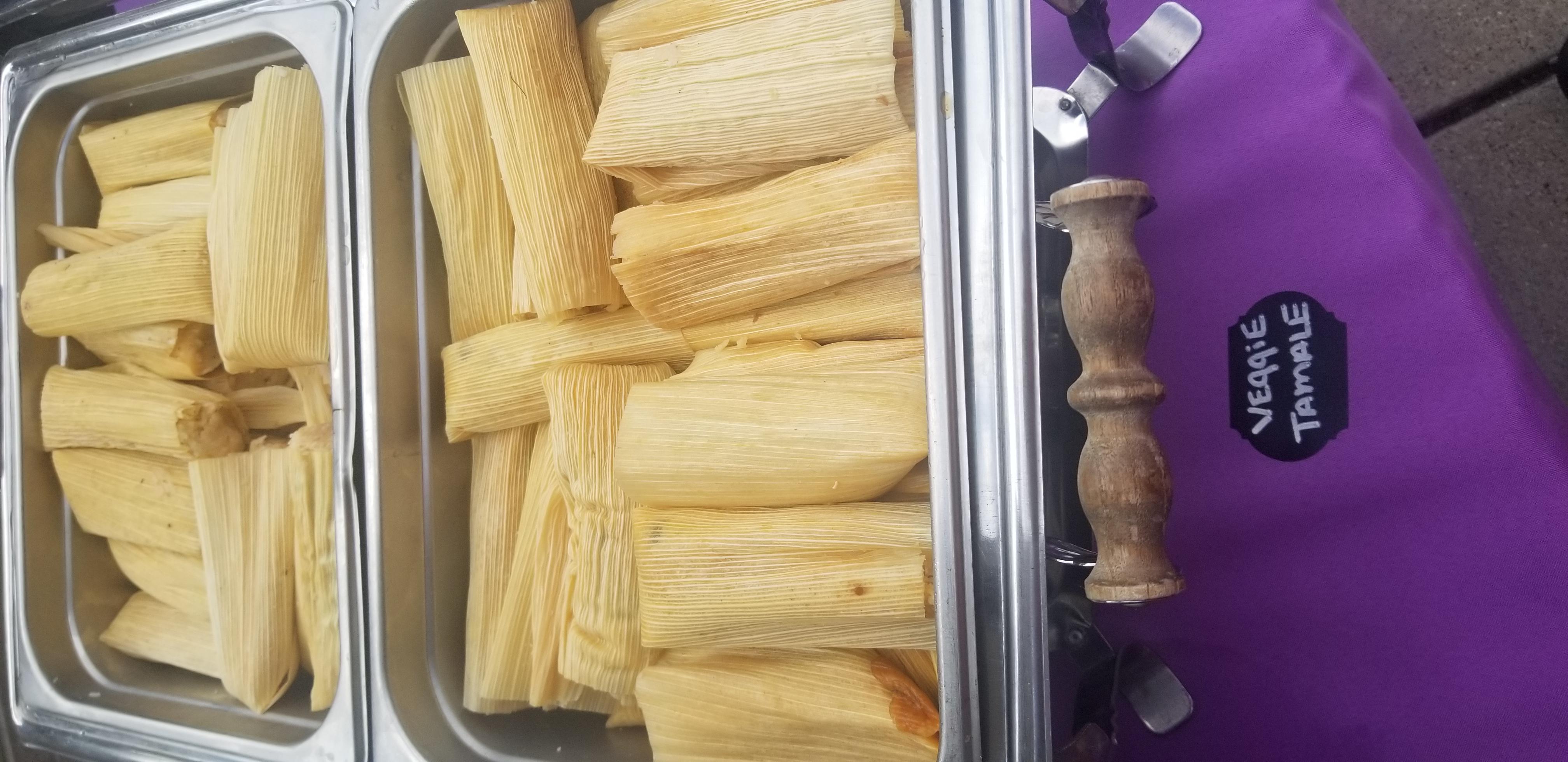 Vegatarian tamales