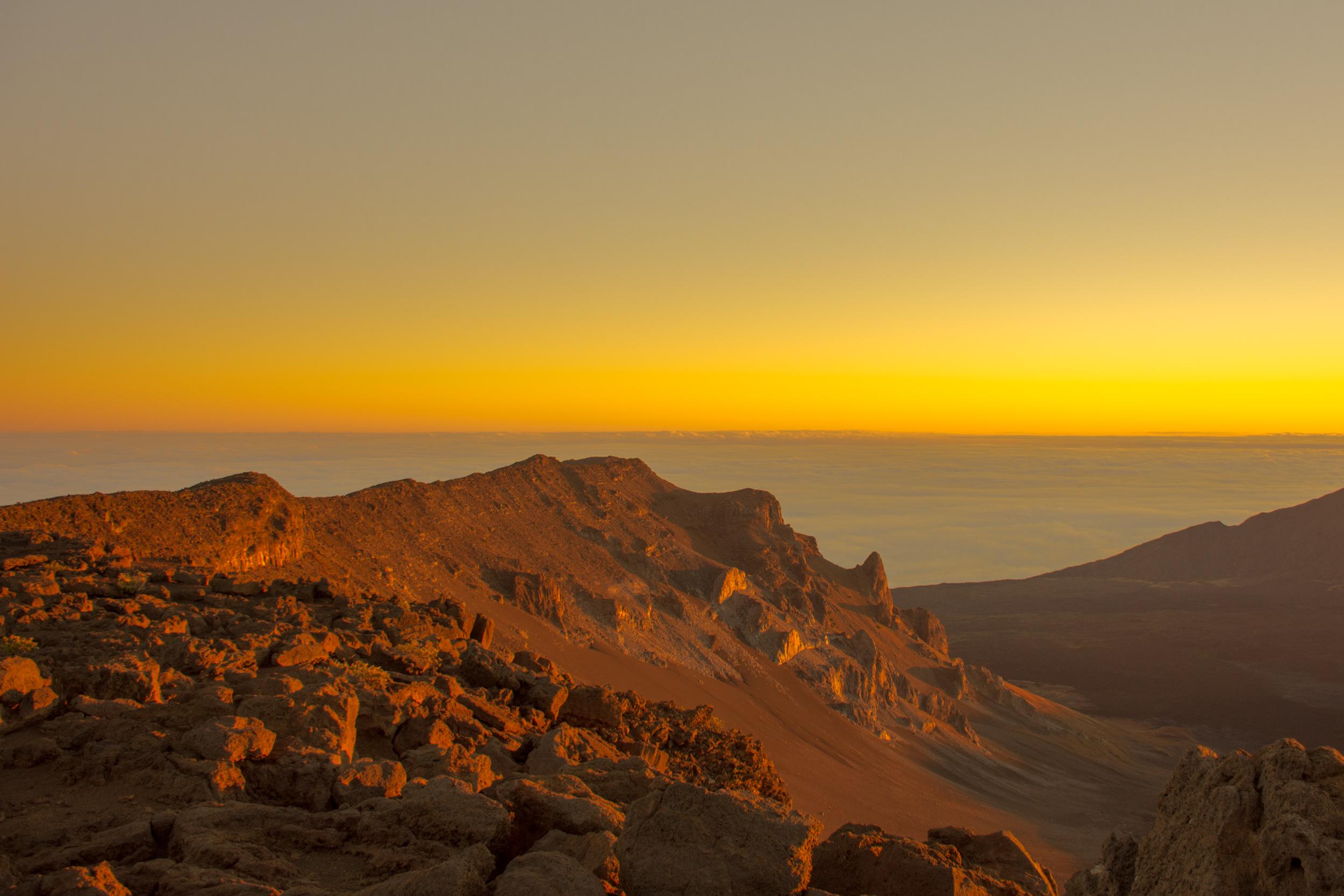 Mount Haleakala Sunrise