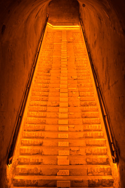 Vintage Stairs @ Vueve Clicquot