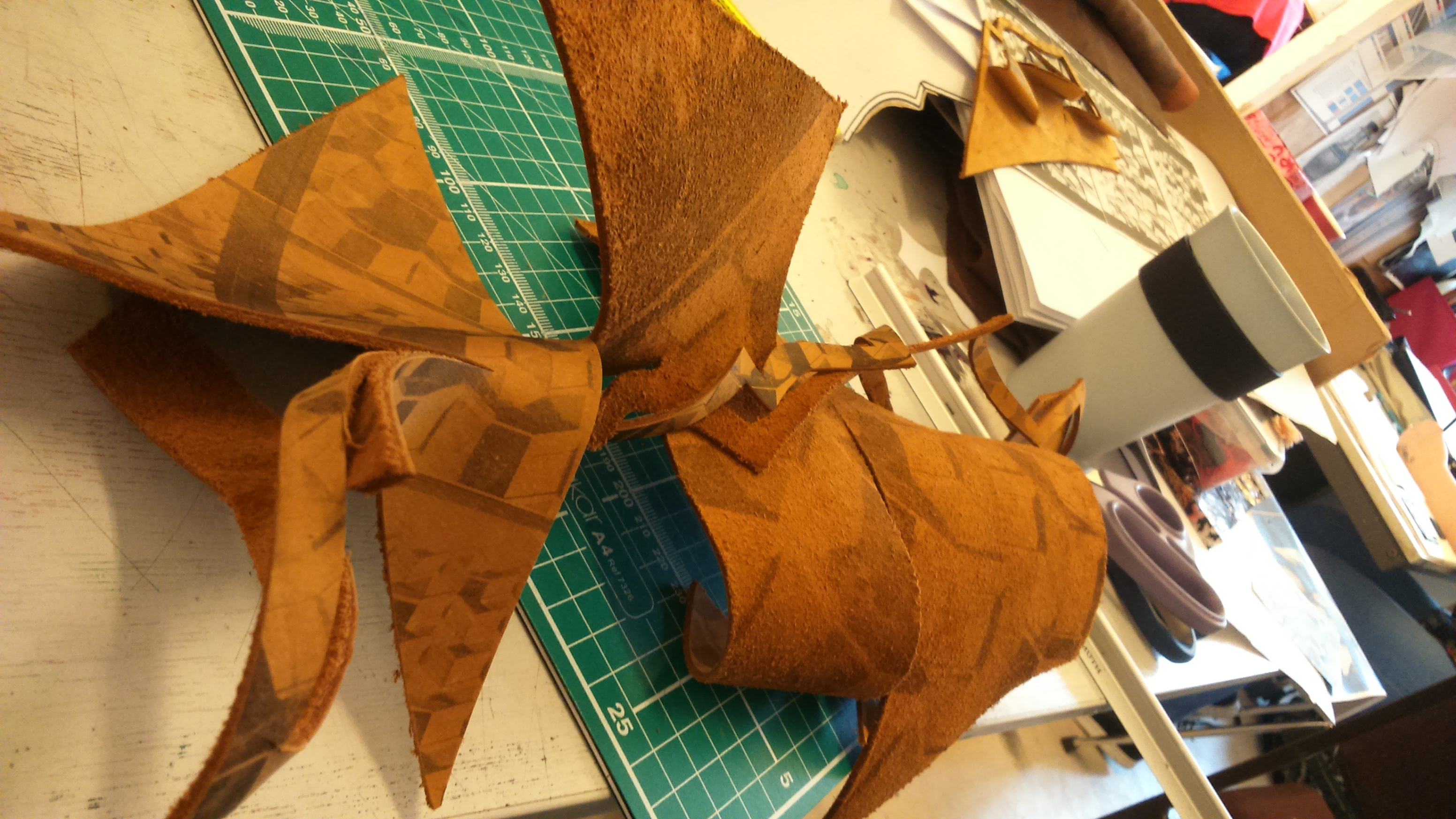 Cut Twisted Leather
