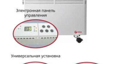 RÖDA Электрические конвекторы серии Bravo