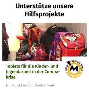 👆🏽 AHA! Tablets für die Kinder- und Jugendarbeit in der Coronakrise