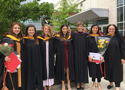Seven Bruin Lab members receive degrees at Convocation
