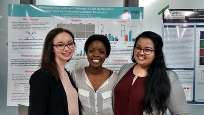 Congrats to Bruin Lab Honour's thesis students!