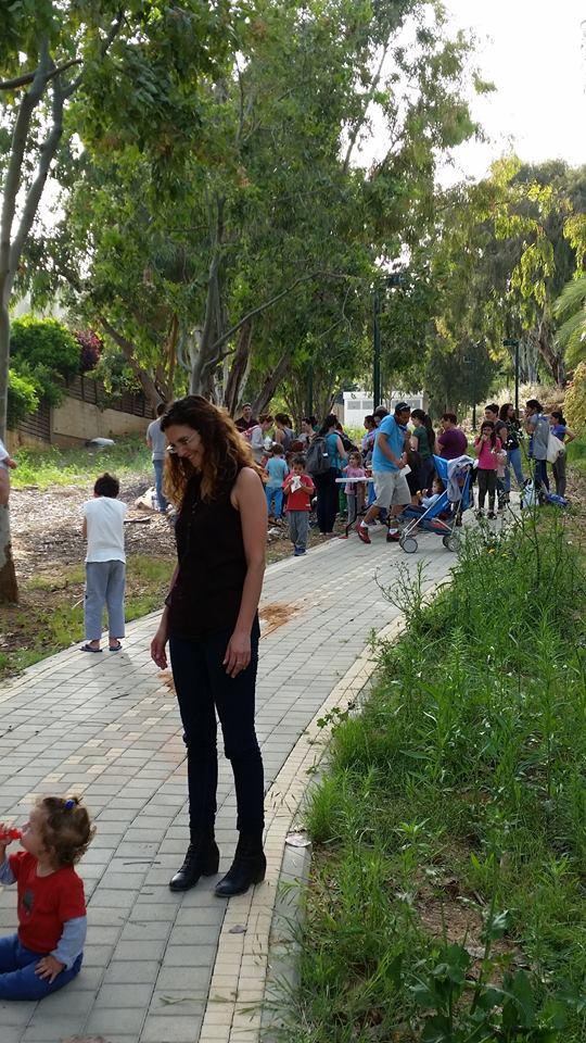 5  2015   אירוע אביב בגינה הקהילתית