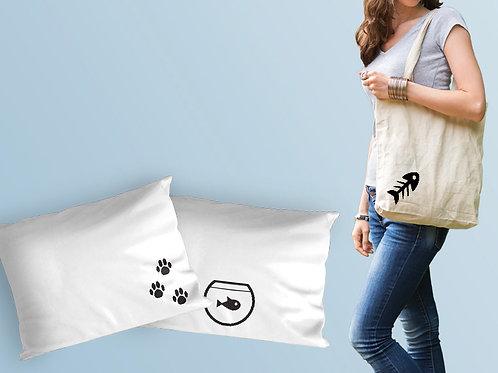מדבקות גיהוץ מדליקות של בעלי חיים לגיהוץ על חולצות, תיקים, כלי מיטה ועוד
