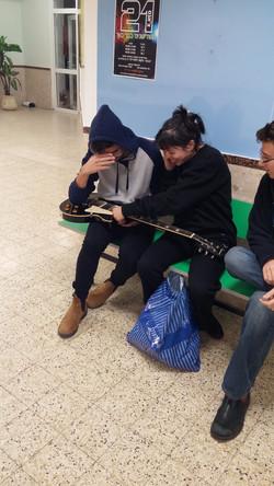 על הגיטרה - נוי