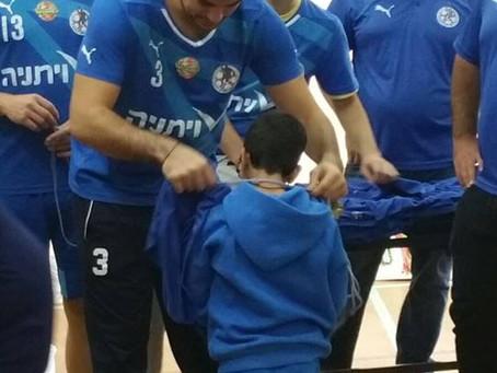 """יום ספורט בהתנדבות ממועדון כדור יד א.ס. """"ויתניה"""" רמת השרון"""