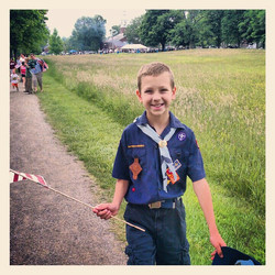 My boy scout!