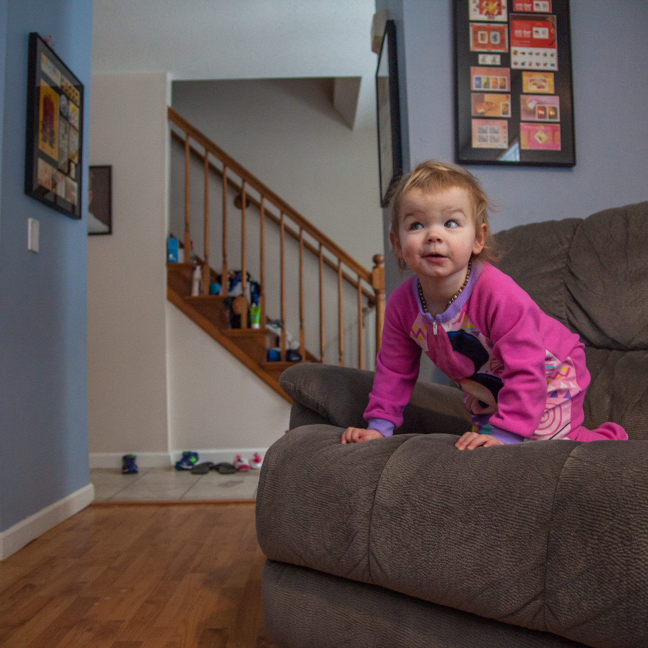 A Day in the Life: The Eaton Family
