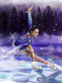 Dancing in Snowflakes