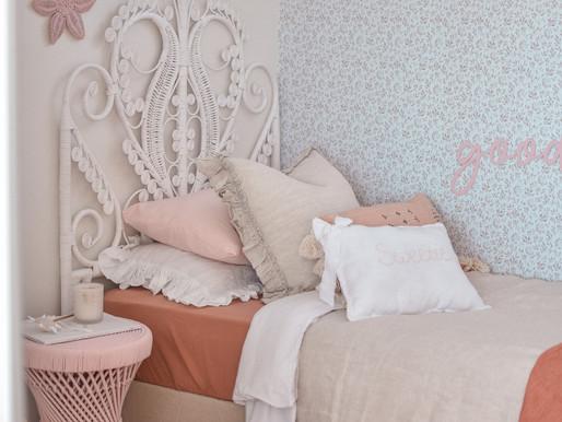 Lexys Room Reveal: Vintage Boho Vibes