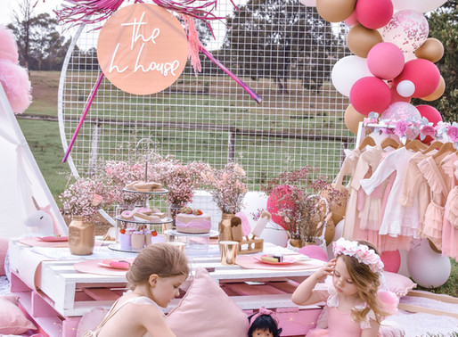 HOW TO: Recreate our Floral Tea Party!