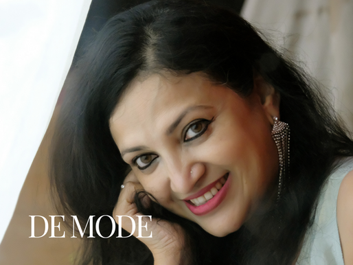 "DE MODE cover Dr. Anuradha Prasad as ""Best Selling Author Of The Year"" in June 2020 issue"
