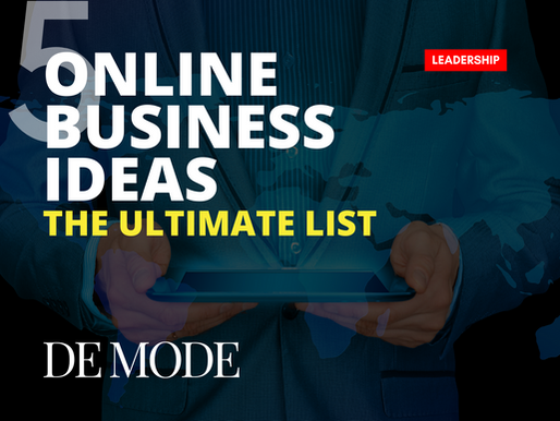 Running low with cash? Trending 5 Online Business Ideas You Can Start With No Money