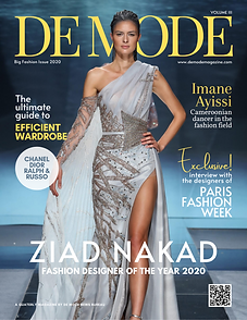 DE MODE - 2020 BIG FASHION ISSUE FEAT. Z