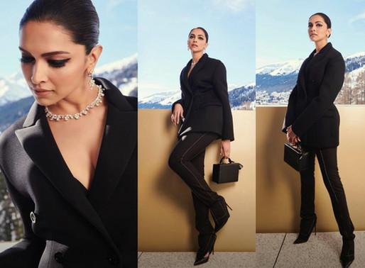 Deepika Padukone at WEF Davos