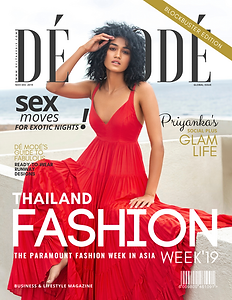 DE MODE NOV-DEC 2019 GLOBAL ISSUE COVER.