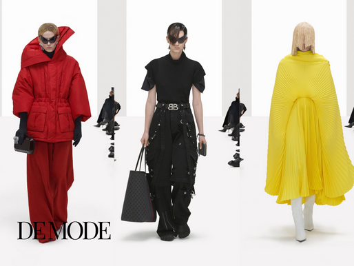 Balenciaga Spring 2022 Collection; Hacking Project between Gucci and Balenciaga