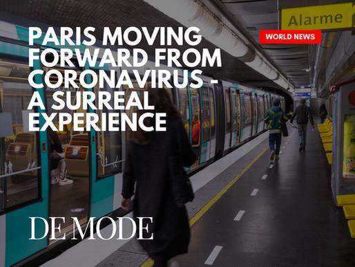 Paris Moving Forward From Coronavirus As France Announced Tentative Measures To Ease Lockdown