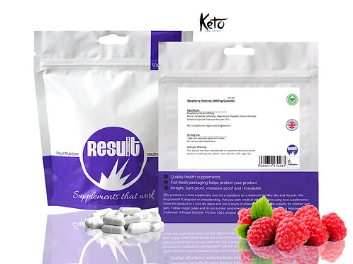 Raspberry Ketones MAX 1000mg Capsules - £1 to £7.99