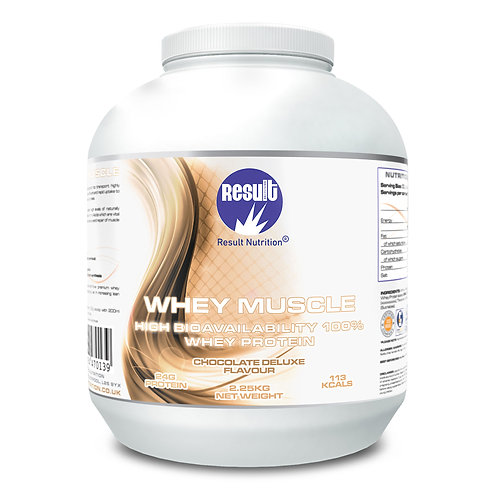 Whey Muscle - Chocolate Deluxe - £1 to £43.99