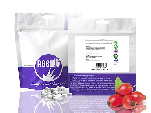 Vitamin C 1000mg with Rosehip and Bioflavonoids - £1 to £5.99
