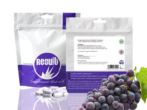 Grape Seed Extract - 4800mg Capsules - £1 to £6.99