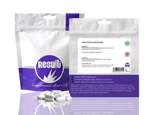 Creatine Ethyl Ester 3000mg per Serving Capsules - £1 to £7