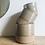 Thumbnail: Taupe Demi-Glazed Stoneware Pot