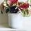 Thumbnail: White Stoneware Pot
