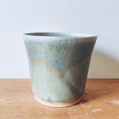 Handmade Stoneware Pot - No.39 (To fit 12cm)