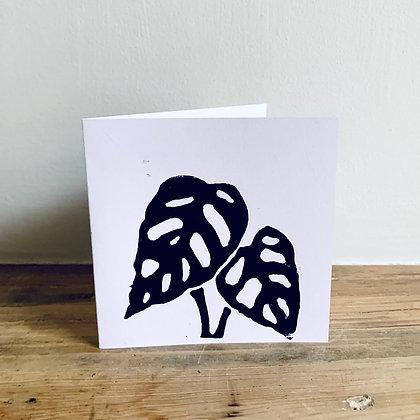 Hand Written Gift Card