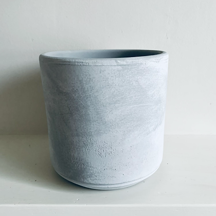 Grey Concrete Pot