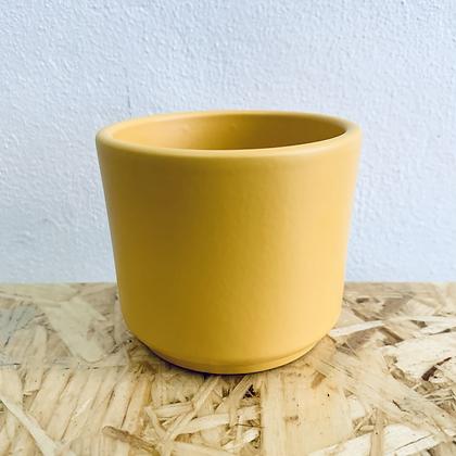 Mini Yellow Stoneware Pot