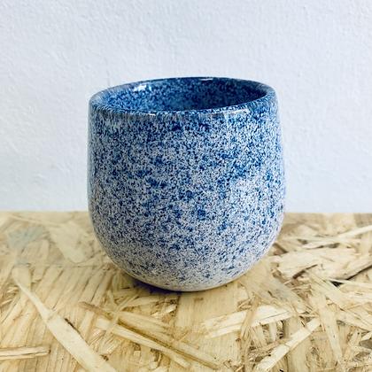 Mini Blue Glaze Stoneware Pot