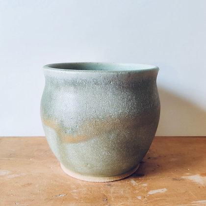 Handmade Stoneware Pot - No.47 (To fit 12cm)