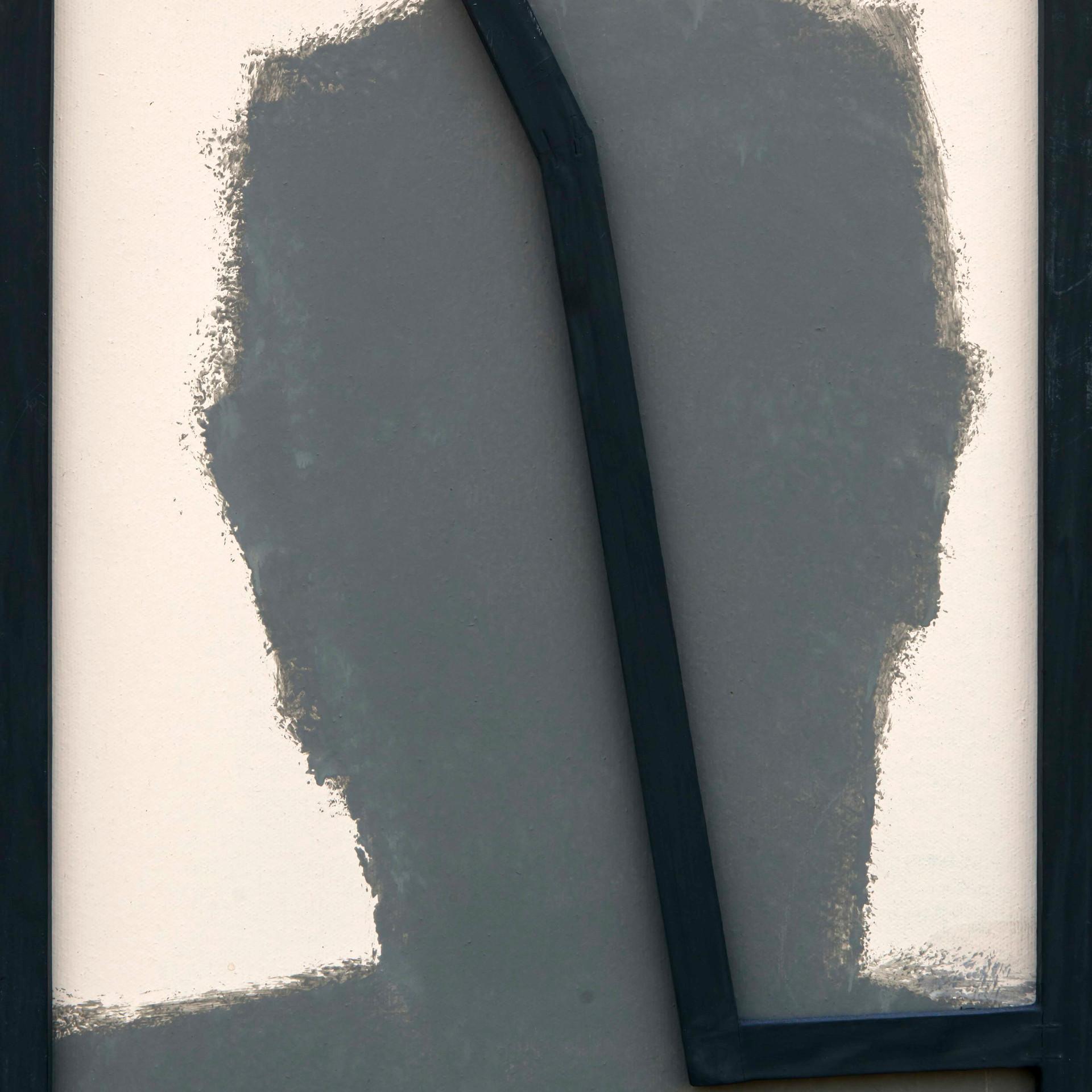 'Inn Series' Self Portrait, Wall Paint a